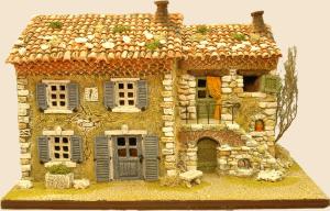 bastide et maison escalier