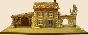 bastide etable porte porche