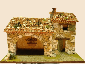 cabanon etable porche