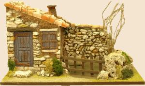 bergerie mur droite