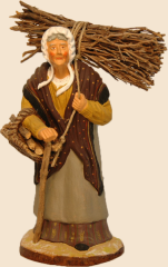 porteuse de bois